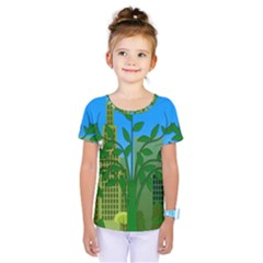 Environmental Protection Kids  One Piece Tee