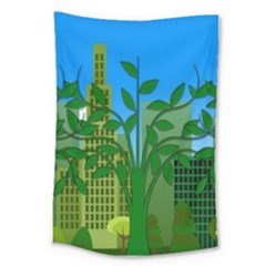 Environmental Protection Large Tapestry