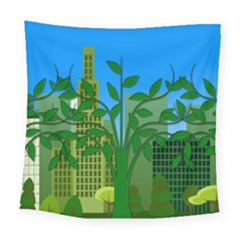 Environmental Protection Square Tapestry (large)