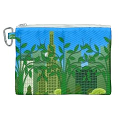 Environmental Protection Canvas Cosmetic Bag (xl)