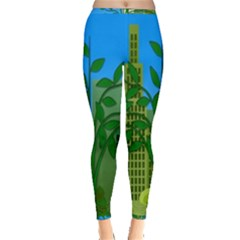 Environmental Protection Inside Out Leggings