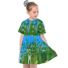 Environmental Protection Kids  Sailor Dress