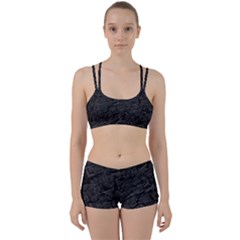 Black Rectangle Wallpaper Grey Perfect Fit Gym Set