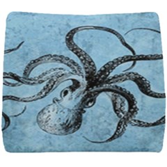 Vintage Octopus  Seat Cushion by Valentinaart