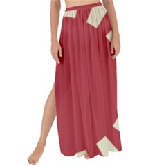 Rising Sun Flag Maxi Chiffon Tie Up Sarong
