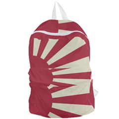 Rising Sun Flag Foldable Lightweight Backpack