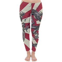 Rising Sun Flag Classic Winter Leggings