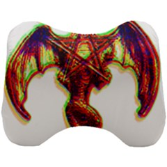 Demon Head Support Cushion by ShamanSociety