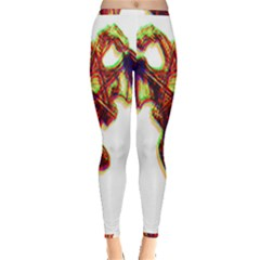 Demon Inside Out Leggings by ShamanSociety