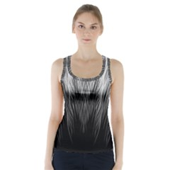 Feather Graphic Design Background Racer Back Sports Top by Nexatart