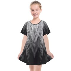 Feather Graphic Design Background Kids  Smock Dress