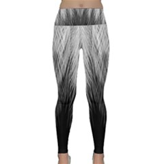 Feather Graphic Design Background Lightweight Velour Classic Yoga Leggings