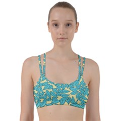 Leaves Dried Leaves Stamping Line Them Up Sports Bra