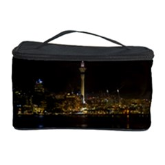 City River Water Cityscape Skyline Cosmetic Storage