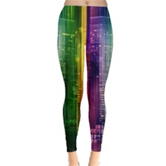Skyline Light Rays Gloss Upgrade Leggings