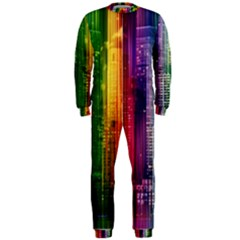 Skyline Light Rays Gloss Upgrade Onepiece Jumpsuit (men)