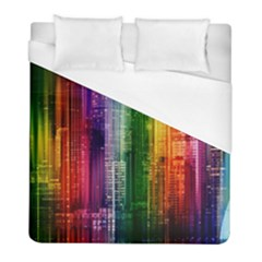 Skyline Light Rays Gloss Upgrade Duvet Cover (full/ Double Size)