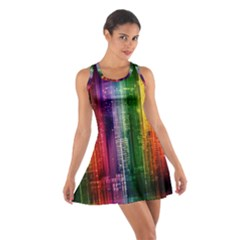 Skyline Light Rays Gloss Upgrade Cotton Racerback Dress