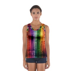 Skyline Light Rays Gloss Upgrade Sport Tank Top