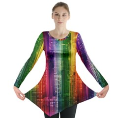Skyline Light Rays Gloss Upgrade Long Sleeve Tunic