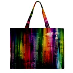 Skyline Light Rays Gloss Upgrade Medium Tote Bag