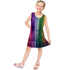 Skyline Light Rays Gloss Upgrade Kids  Tunic Dress