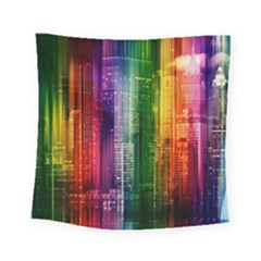 Skyline Light Rays Gloss Upgrade Square Tapestry (small)