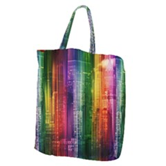 Skyline Light Rays Gloss Upgrade Giant Grocery Tote
