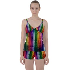 Skyline Light Rays Gloss Upgrade Tie Front Two Piece Tankini