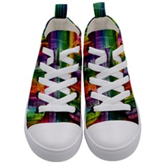 Skyline Light Rays Gloss Upgrade Kid s Mid Top Canvas Sneakers