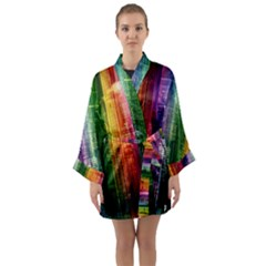 Skyline Light Rays Gloss Upgrade Long Sleeve Kimono Robe