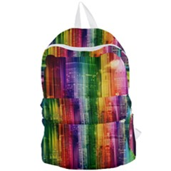 Skyline Light Rays Gloss Upgrade Foldable Lightweight Backpack