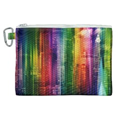 Skyline Light Rays Gloss Upgrade Canvas Cosmetic Bag (xl)