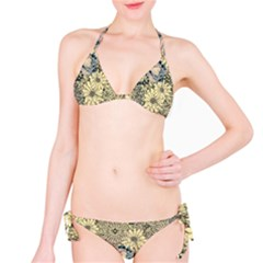 Abstract Art Artistic Botanical Classic Bikini Set