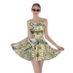 Abstract Art Artistic Botanical Skater Dress