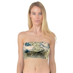 Abstract Art Artistic Botanical Bandeau Top