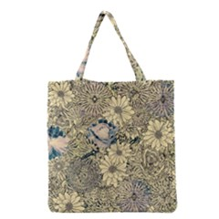 Abstract Art Artistic Botanical Grocery Tote Bag
