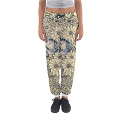 Abstract Art Artistic Botanical Women s Jogger Sweatpants