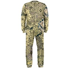 Abstract Art Artistic Botanical Onepiece Jumpsuit (men)