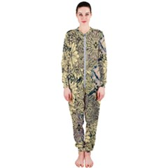 Abstract Art Artistic Botanical Onepiece Jumpsuit (ladies)