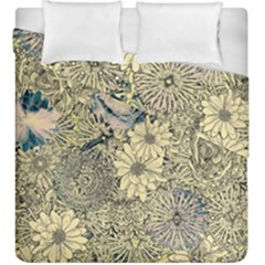 Abstract Art Artistic Botanical Duvet Cover Double Side (king Size)