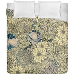 Abstract Art Artistic Botanical Duvet Cover Double Side (california King Size)