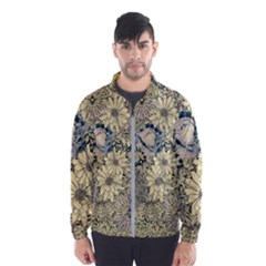 Abstract Art Artistic Botanical Windbreaker (men)
