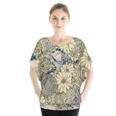 Abstract Art Artistic Botanical Blouse