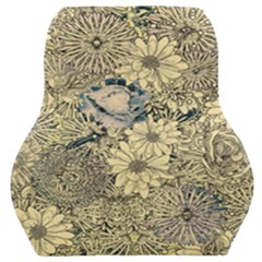 Abstract Art Artistic Botanical Car Seat Back Cushion