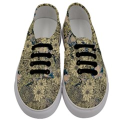 Abstract Art Artistic Botanical Men s Classic Low Top Sneakers