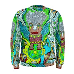 Cosmic Planet Angel Men s Sweatshirt