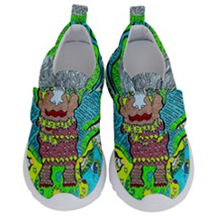 Cosmic Planet Angel Velcro Strap Shoes