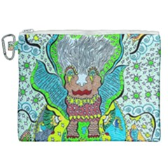 Cosmic Planet Angel Canvas Cosmetic Bag (xxl)