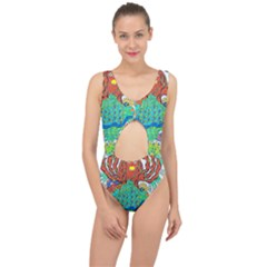 Ocalafish Center Cut Out Swimsuit
